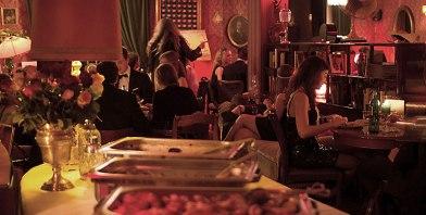 Speisen im Salon