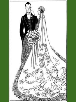 braut paar - 1920