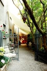Logenhaus Bar: Eingang Gartensalon