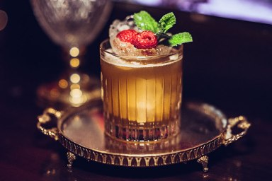 """Faradai-Smash"" Cocktail"